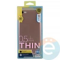 Накладка силиконовая j-Case на Apple iPhone 6 Plus/6s Plus розово-золотистая