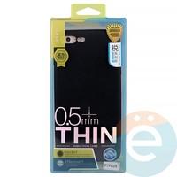 Накладка силиконовая j-Case на Apple iPhone 7 Plus/8 Plus чёрна Appleя
