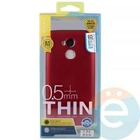 Накладка силиконовая j-Case на Xiаomi Redmi 4 красная