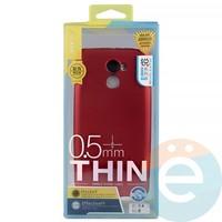 Накладка силиконовая j-Case на Xiаomi Redmi 4 Pro красная