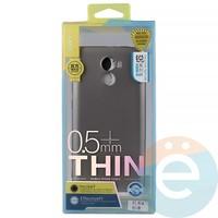 Накладка силиконовая j-Case на Xiаomi Redmi 4 Pro серебристая