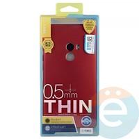 Накладка силиконовая j-Case на Xiаomi Mi Mix красная