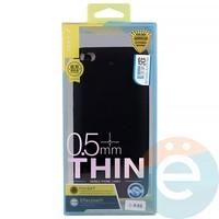 Накладка силиконовая j-Case на Xiаomi Mi 5s чёрная