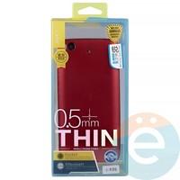 Накладка силиконовая j-Case на Xiаomi Mi 5s красная