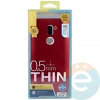 Накладка силиконовая j-Case на Xiаomi Mi 5s Plus красная