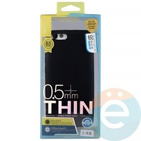 Накладка силиконовая j-Case на Xiаomi Mi 6 чёрная