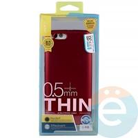 Накладка силиконовая j-Case на Xiаomi Mi 6 красная