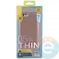 Накладка силиконовая j-Case на Xiаomi Mi 6 розово-золотистая