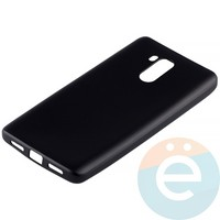 Накладка силиконовая Soft Touch на Xiaomi Redmi 4 чёрная