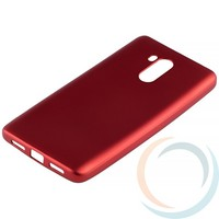 Накладка силиконовая Soft Touch на Xiaomi Redmi 4 красная