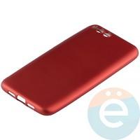 Накладка силиконовая Soft Touch на Xiaomi Mi 6 красная