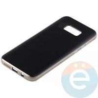 Накладка комбинированная Spigen на Samsung Galaxy S8 Plus золотистая