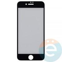 Защитная плёнка 2D на Apple iPhone 7/8 передняя часть чёрная