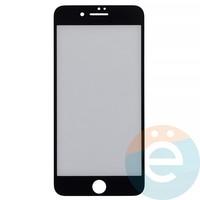 Защитная плёнка 2D на Apple iPhone 7 Plus/8 Plus передняя часть чёрная