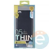 Накладка силиконовая j-Case на Xiаomi Redmi 3 чёрная