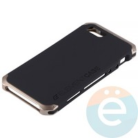 Накладка противоударная Element Case на Apple iPhone 5/5s/SE чёрно-золотистая