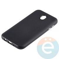 Накладка комбинированная Spigen на Samsung Galaxy J7 SM-J720/730 (2017) чёрная