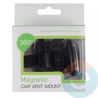 Держатель автомобильный магнитный для смартфонов Magnetic H93+G02 в воздуховод