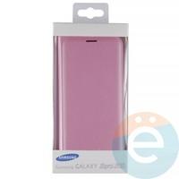 Чехол-книжка боковой на Samsung Galaxy J5 SM-J520/530 (2017) розовый