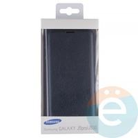 Чехол-книжка боковой на Samsung Galaxy J5 SM-J520/530 (2017) синий