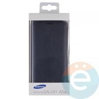 Чехол-книжка боковой на Samsung Galaxy A5 (2017) SM-A520 синий