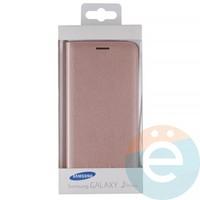 Чехол-книжка боковой на Samsung Galaxy J5 Prime бронзовый
