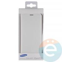 Чехол-книжка боковой на Samsung Galaxy J7 SM-J720/730 (2017) белый