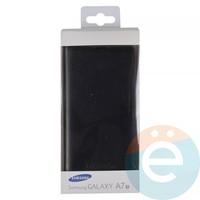 Чехол-книжка боковой на Samsung Galaxy A7 (2017) SM-A720 чёрный