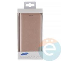 Чехол-книжка боковой на Samsung Galaxy J5 Prime золотистый