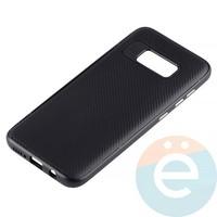 Накладка комбинированная Spigen на Samsung Galaxy S8 чёрная