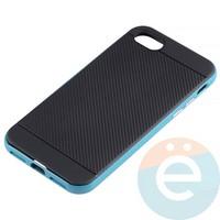 Накладка комбинированная Spigen на Apple iPhone 7/8 голубая