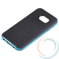 Накладка комбинированная Spigen на Samsung Galaxy S7 голубая