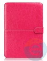 """Чехол-книжка кожаный на MacBook 13.3"""" Retina розовый"""