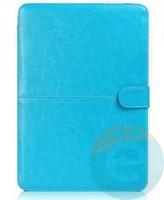 """Чехол-книжка кожаный на MacBook 13.3"""" Retina голубой"""