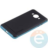 Накладка комбинированная Spigen на Samsung Galaxy J5 SM-J510 (2016) голубая