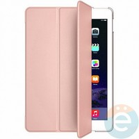 Чехол-книжка на Apple iPad 2017 розово-золотистый