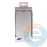 Чехол-книжка боковой на Samsung Galaxy S7 белый