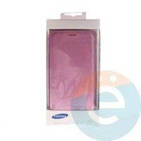Чехол-книжка боковой на Samsung Galaxy S7 розовый