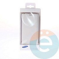 Чехол-книжка боковой на Samsung Galaxy S7 Edge белый