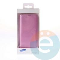 Чехол-книжка боковой на Samsung Galaxy S7 Edge розовый