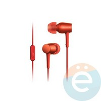 Наушники Sony MDR-EX 750AP красные