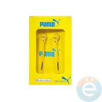 Наушники Puma PM-A08S жёлтые