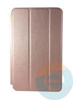 Чехол-книжка на Samsung Galaxy Tab A 8.0 SM-T385 розово-золотистый