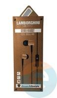Наушники Stereo Headset Lamborghini AN-1111 золотистые