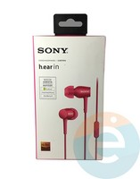 Наушники Sony MDR-EX 750AP розовые