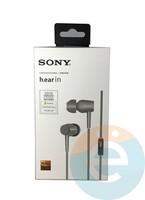 Наушники Sony MDR-EX 750AP серые